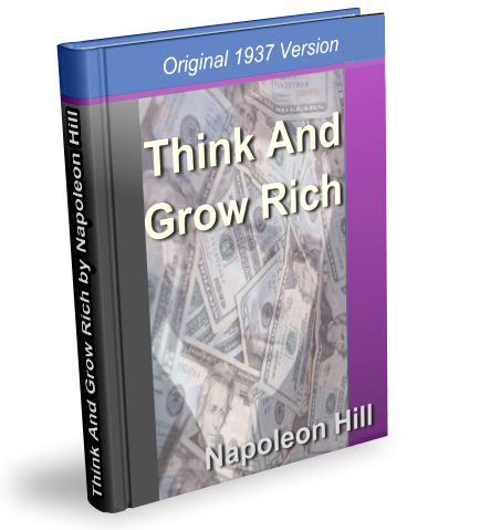 book cover - Think And Grow Rich [TAGR]